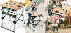 BOSCH PWB 600 - Рабочий зажимный стол, верстак, фото 3