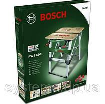 BOSCH PWB 600 - Рабочий зажимный стол, верстак, фото 2