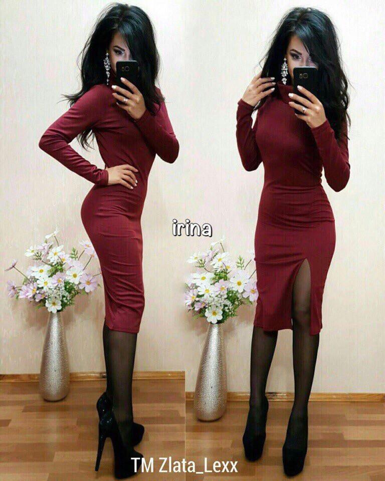 Платье мод 052 р. S-M и М-L