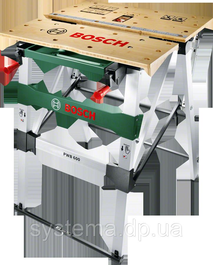 BOSCH PWB 600 - Рабочий зажимный стол, верстак