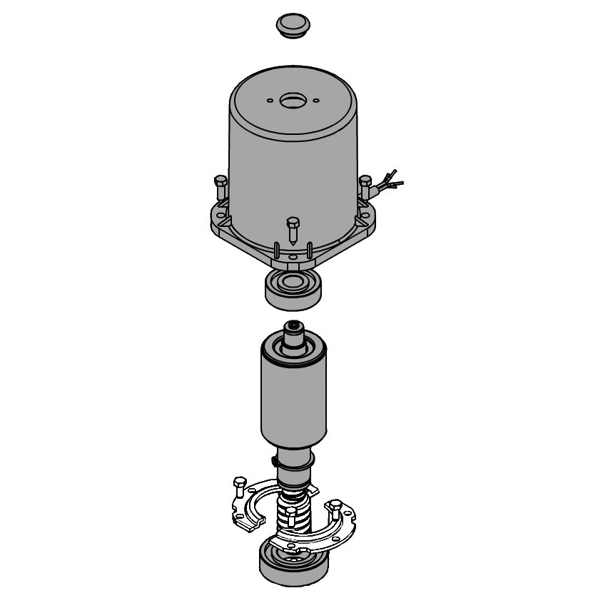 Двигатель 741 FAAC (63003159)