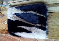 Сумка из натурального меха норки, размер 20х13см, фото 1