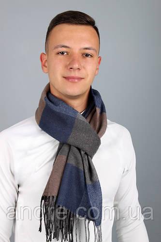 Мужской шарф Феликс, коричневый