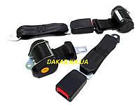 Инерционные двухточечные ремни безопасности для автомобиля
