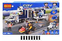 Конструктор Cogo CITY 4166 Поліцейський транспорт, 401 дет.