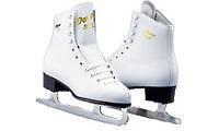 Коньки для фигурного катания Graf Davos Gold white
