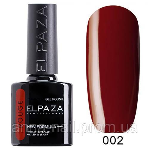 Гель лак ELPAZA Rouge 02 Амароне 10 мл