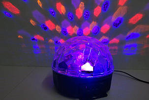 Светомузыка диско шар Magic Ball Music MP3 плеер, фото 2
