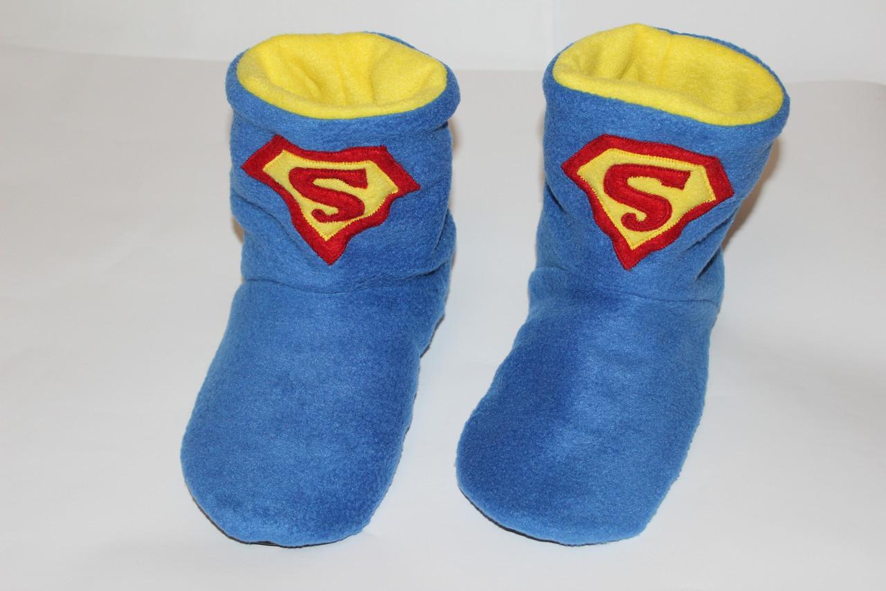 a15fbe2008e0 Тапочки сапожки Супермен Размер 18 - 45, цена 260 грн., купить Харків —  Prom.ua (ID#360871482)