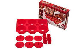 Форма для выпечки кексов CUPCAKE SECRET (B031)