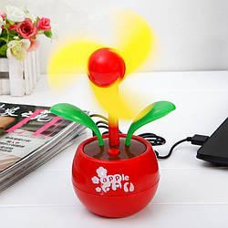 Настольный USB-вентилятор Цветок