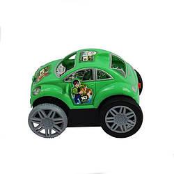 Детская игрушечная машинка на батарейках, зеленая (5269)