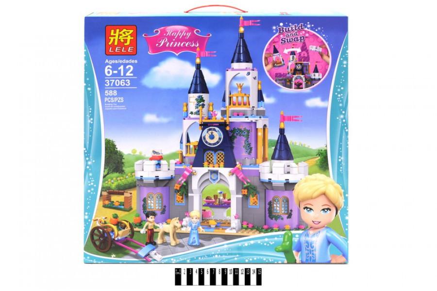 """Конструктор LELE Princess 37063 """"Волшебный замок Золушки"""", 588 дет."""