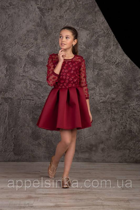 Нарядное подростковое платье для девочек 134,140рост - Интернет-магазин  Апельсинка детская,подростковая, d03852d4b1f