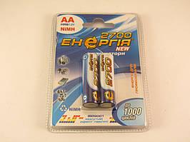 Аккумулятор Энергия NiMH AA (HR6) 2700mAh 1,2V
