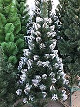 """Искусственная елка с белыми кончиками """"Лидия"""""""