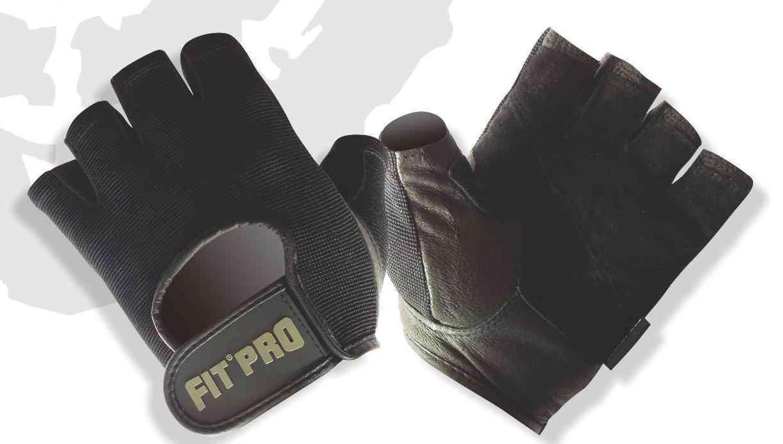 Спортивные перчатки для фитнеса Power Systems B1 PRO, черные