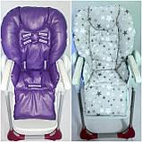 Двухсторонний чехол на стульчик для кормления Chicco Polly, фото 2