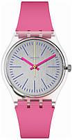 Женские Часы Swatch GE256 FLUO PINK Оригинал
