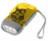 Фонарик светодиодный (3xLED) с динамо-генератором, фото 3