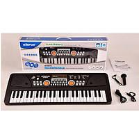 Синтезатор BF-5301C (12шт) 49клав,52,5см,микрофон,демо,запись, св,USB,от сети,в кор-ке, 55,5-21-8см