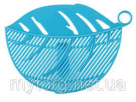 Сито насадка BauTech для слива воды  Голубой
