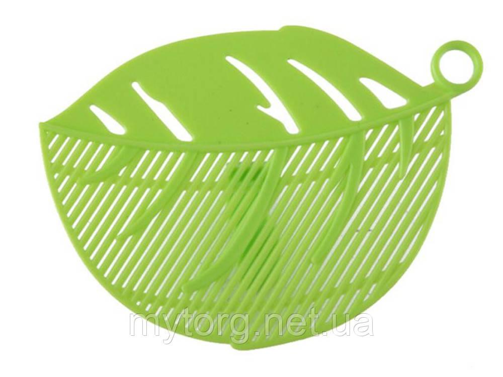 Сито насадка BauTech для слива воды  Зеленый