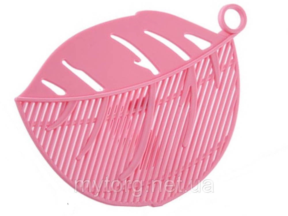 Сито насадка BauTech для слива воды  Розовый