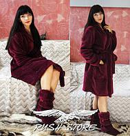 Женский махровый халат , фото 1