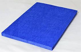 Фетр синий 20 листов (1мм/20x30см)