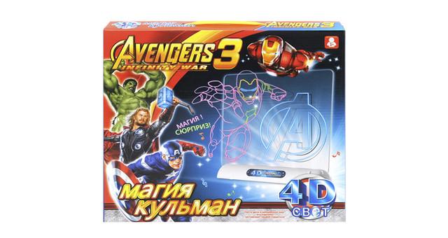 4D доска для рисования Мстители Avengers