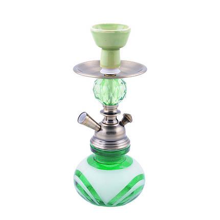 Кальян на одну персону (28см) KN-191 (Зеленый), фото 2