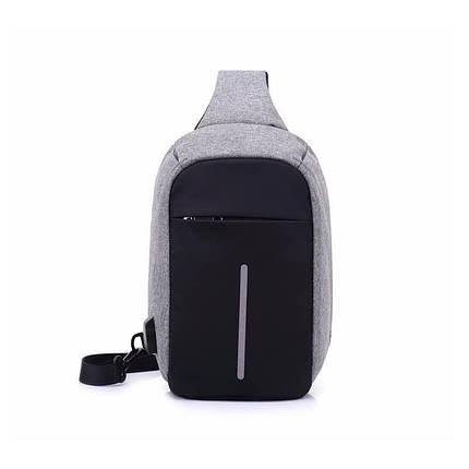 59ec86fd0a5e Городской рюкзак-антивор Bobby Mini 506 с защитой от карманников и USB- портом для