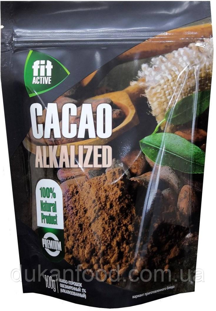 Какао-порошок  1% , Фитактив, 100 г
