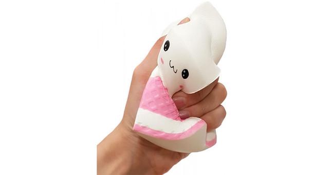 Антистрес-іграшка сквиш Коробка молока (велика)