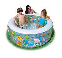 """Детский надувной бассейн """"Аквариум"""" Intex 58480 (152x56 см.)"""