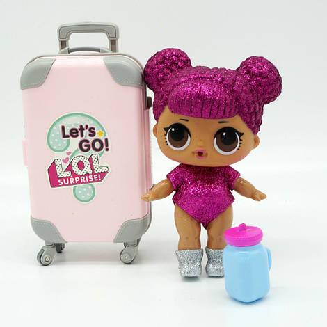 Кукла-сюрприз Лол (LOL) LOL Pearl Surprise в чемодане РОЗОВЫЙ