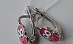 Серебряные серьги - детские, фото 2