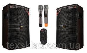 Активная акустика с микрофонами T268-15 400/800Watt (Bluetooth/USB)