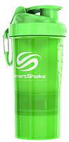 Шейкер SmartShake Original2Go 600 ml neon green