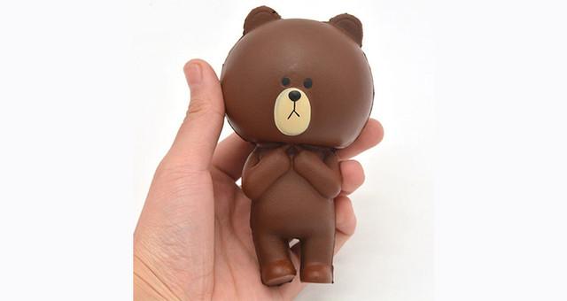 Антистресс-игрушка сквиш Медвежонок