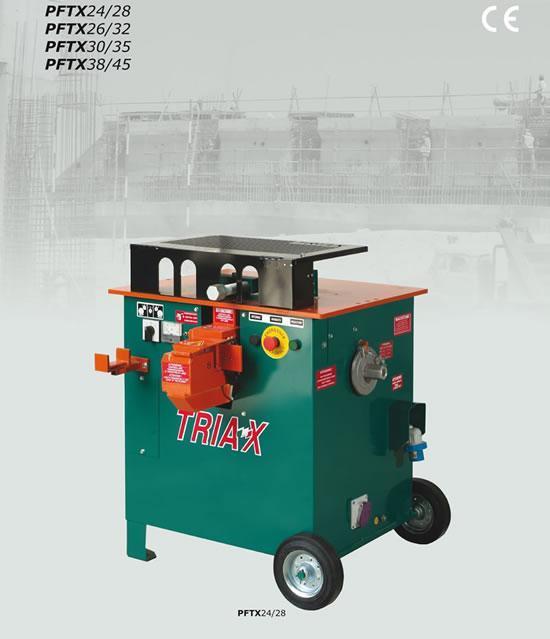 Станок для резки и гибки aрматуры TRIAX PFTX24/28 (380 В)