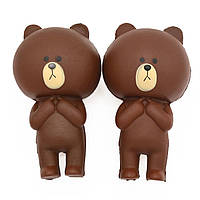 Антистресс-игрушка сквиш Медвежонок, фото 1