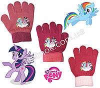 Демисезонные перчатки My little Pony от Hasbro 2-4 года, фото 1