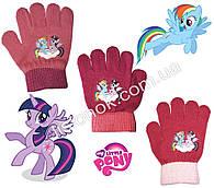 Демісезонні рукавички My little Pony від Hasbro 2-4 роки