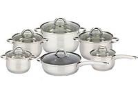 Набор посуды ( набор кастрюль ) 12 предметов Bohmann BH 1212 SC