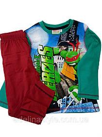 Пижама детская для мальчика Черепашки- ниндзя на 3 года