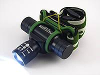 Налобный светодиодный фонарь Bailong BL-6660
