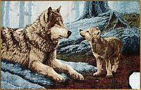 """Картина гобеленовая"""" Волки"""""""