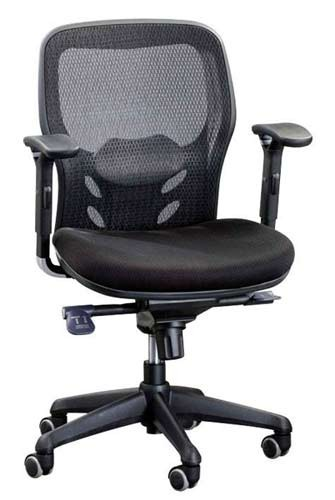 Кресло для работы за компьютером Enrandnepr Кураж M черный